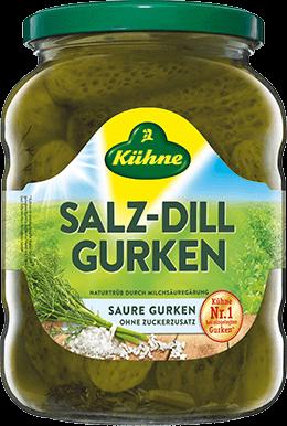 Salt-Dill Gherkins
