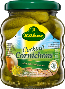 Cocktail Cornichons