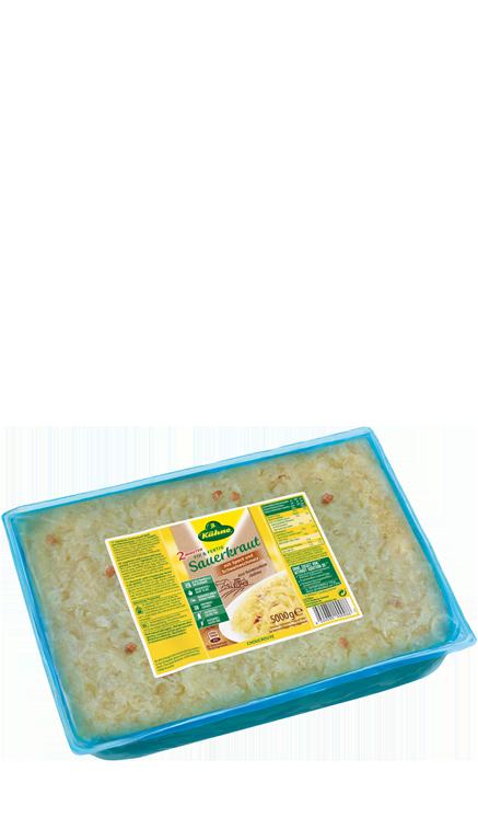 Sauerkraut with baon and lard