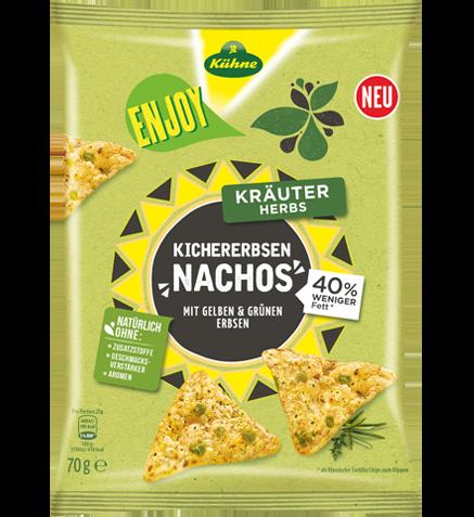Enjoy Chickpeas-Nachos Herbs